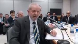 """Em depoimento a Moro, Lula diz que """"nunca houve a intenção de adquirir triplex"""""""