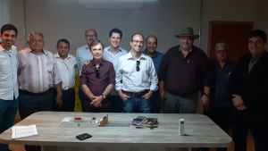 Daniel Vilela recebe Márcio Luis, pré-candidato a prefeito de Porangatu