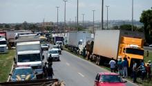 Adesão a nova greve dos caminhoneiros esbarra em receio ao apoio da CUT