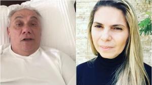 Em vídeo inédito, Marcelo Rezende faz declaração de amor à namorada