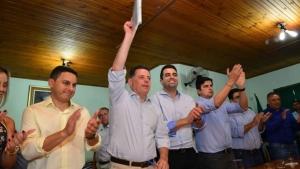 """Em Três Ranchos, Marconi diz que parcerias """"são o sentido do Goiás na Frente"""""""