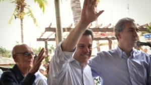 """""""Marconi tem feito muito por nós"""", diz prefeito de Cachoeira de Goiás"""