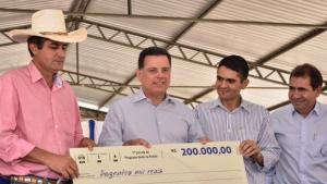 Marconi anuncia reconstrução de GO que beneficia cidade de Cezarina