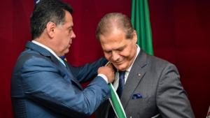 Embaixador do Líbano Joseph Sayah recebe Comenda do Mérito Anhanguera