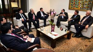 Em visita a Marconi, embaixador confirma vinda do presidente do Paraguai a Goiás