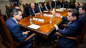 Em Brasília, Marconi pede urgência nos investimentos nas rodovias goianas
