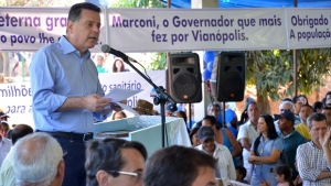 Marconi vai a Vianópolis e Goianésia entregar obras e benefícios