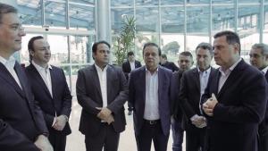 """""""Anápolis acorda feliz e só tem a agradecer Marconi"""", diz prefeito de Anápolis"""