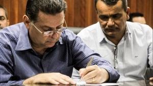 Em Abadia de Goiás, Marconi firma convênio de R$ 2 milhões