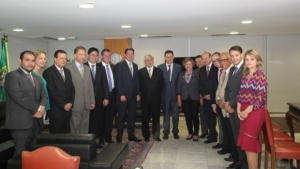 Michel Temer visita Goiás no domingo pra churrasco em comemoração ao aniversário do senador Wilder