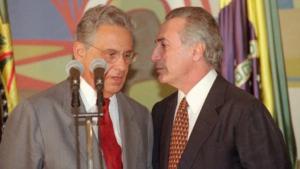 Fernando Henrique Cardoso aposta que Michel Temer vai disputar reeleição em 2018