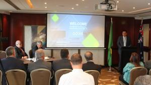 Marconi apresenta programas do governo a pesquisadores em Sydney