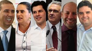 Confira a agenda dos candidatos ao governo de Goiás desta segunda-feira (1º)