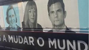 """Em Portugal, anúncio traz foto de Moro dentre """"pessoas que estão mudando o mundo"""""""
