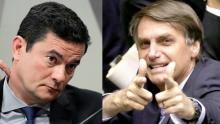 Maior adversário de Bolsonaro, hoje, é Sergio Moro