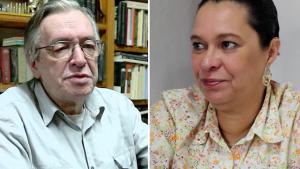 Filha lança livro-bomba sobre o filósofo Olavo de Carvalho