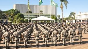 1,6 mil policiais militares são promovidos em Goiás