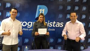 Ruth Lopes é pré-candidata a prefeita de Senador Canedo pelo Progressistas