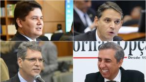 Thiago Peixoto, Cruvinel e Francisco bancam José Eliton e vetam aliança com Daniel Vilela
