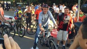 Em passeio ciclístico, Paulo Garcia inaugura neste sábado trechos do Parque Macambira Anicuns