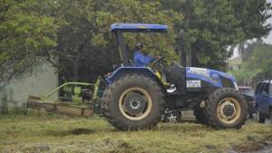 Mutirão leva serviços de infraestrutura na região da Vila Maria, Aparecida de Goiânia