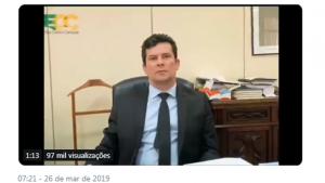 Sérgio Moro pede aprovação de pacote anticrime com modificações, se necessário
