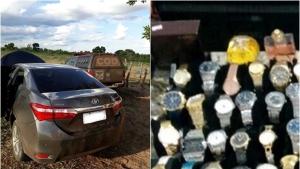 Polícias de Goiás e Mato Grosso desarticulam quadrilha especializada em roubo de joias