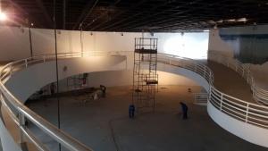 Agetop inicia reformas em todos os prédios do Centro Cultural Oscar Niemeyer