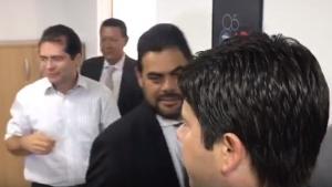 Auxiliares de Iris marcam reunião de última hora com presidente da OAB-GO
