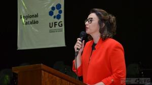 Roselma Lucchese assume Reitoria da Universidade Federal de Catalão