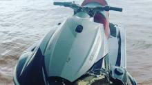 Bombeiros resgatam vítima de acidente com jetski no lago de São Domingos