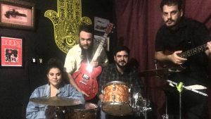 Banda SomBráS faz show beneficente