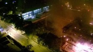 Corpo de Bombeiros afirma que não há risco de desabamento em prédio do TRT