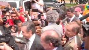 Caiado denuncia agressão contra senadores brasileiros na Venezuela