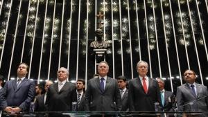 Michel Temer toma posse como presidente da República