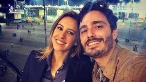 À procura da ex-esposa, ator faz barraco em frente ao departamento de jornalismo da Globo