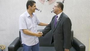 Adetuc recebe deputado Valdemar Jr para discutir turismo e cultura