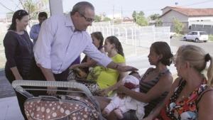 Prefeito visita Hospital de Trindade e pacientes relatam satisfação com qualidade do serviço