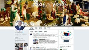 Segurança, Bolsonaro, Gracinha e herança tucana: 2019 nas redes sociais de Ronaldo Caiado