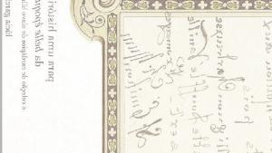 A belle époque na coleção  de cardápios de Bilac