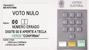 Movimento pelo voto nulo usa as redes sociais para ganhar novos adeptos