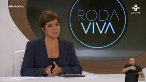 Jornalista Vera Magalhães revela que ganha 22 mil reais para apresentar o Roda Viva