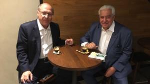 Vilmar Rocha e Geraldo Alckmin discutem política nacional e goiana em São Paulo