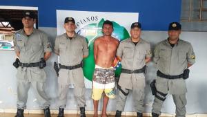 Polícia Militar recaptura foragido do semi-aberto em Goianira