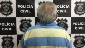 Polícia prende idoso suspeito de estuprar quatro crianças em Padre Bernardo