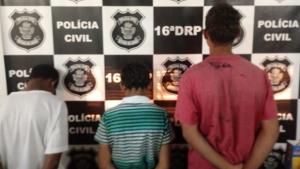 Polícia de Ceres apreende menores que furtaram e destruíram centro de convivência