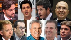 Os players nacionais de Goiás na política a partir de 2019
