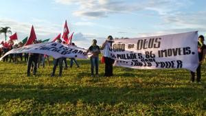 Mulheres do MST ocupam fazenda de João de Deus em Anápolis