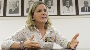Para Gleisi, PT não tem responsabilidade na polarização do País