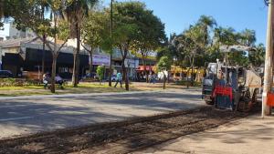 Obras na Av. Goiás se iniciam e população se preocupa com impactos no comércio local